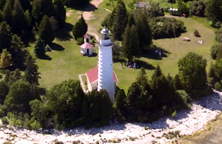 Cana Island Lighthouse Photo