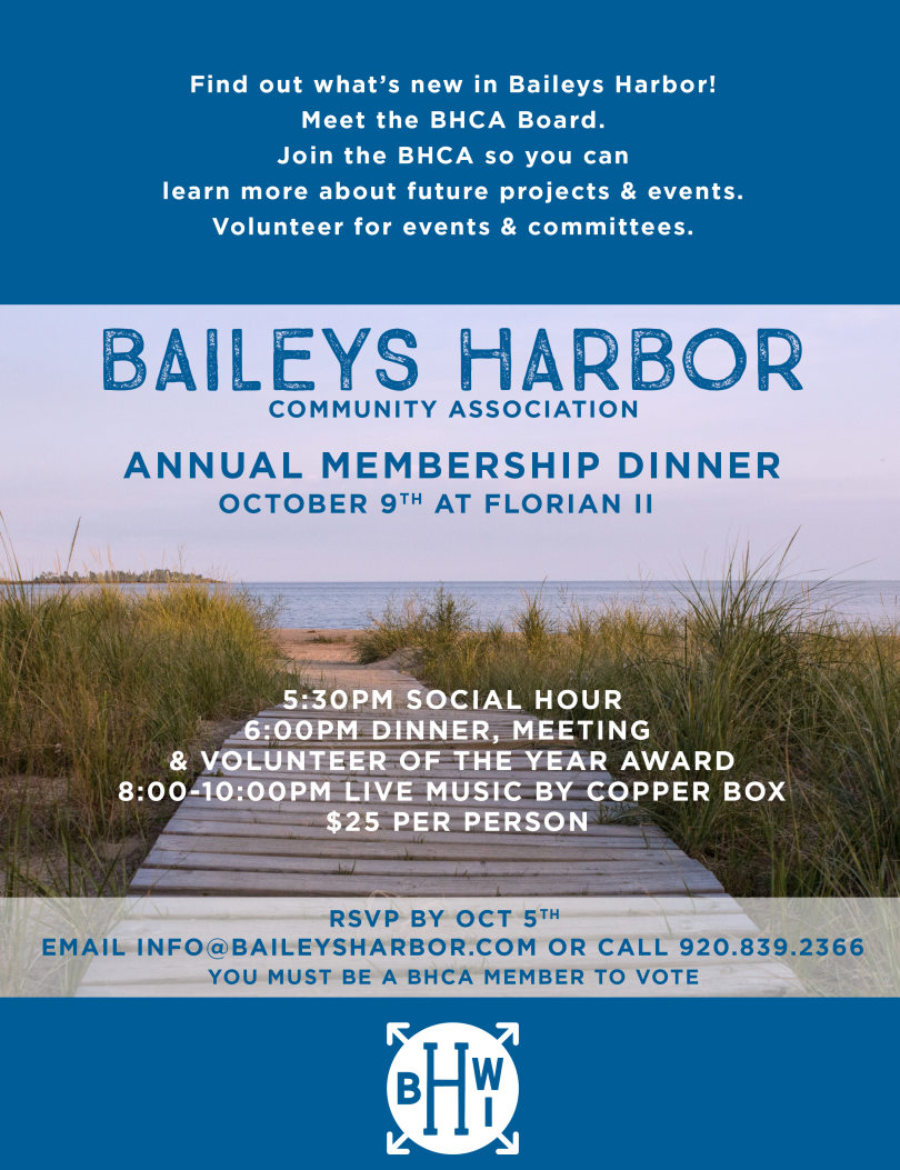 BHCA Annual Membership Dinner & Meeting Photo