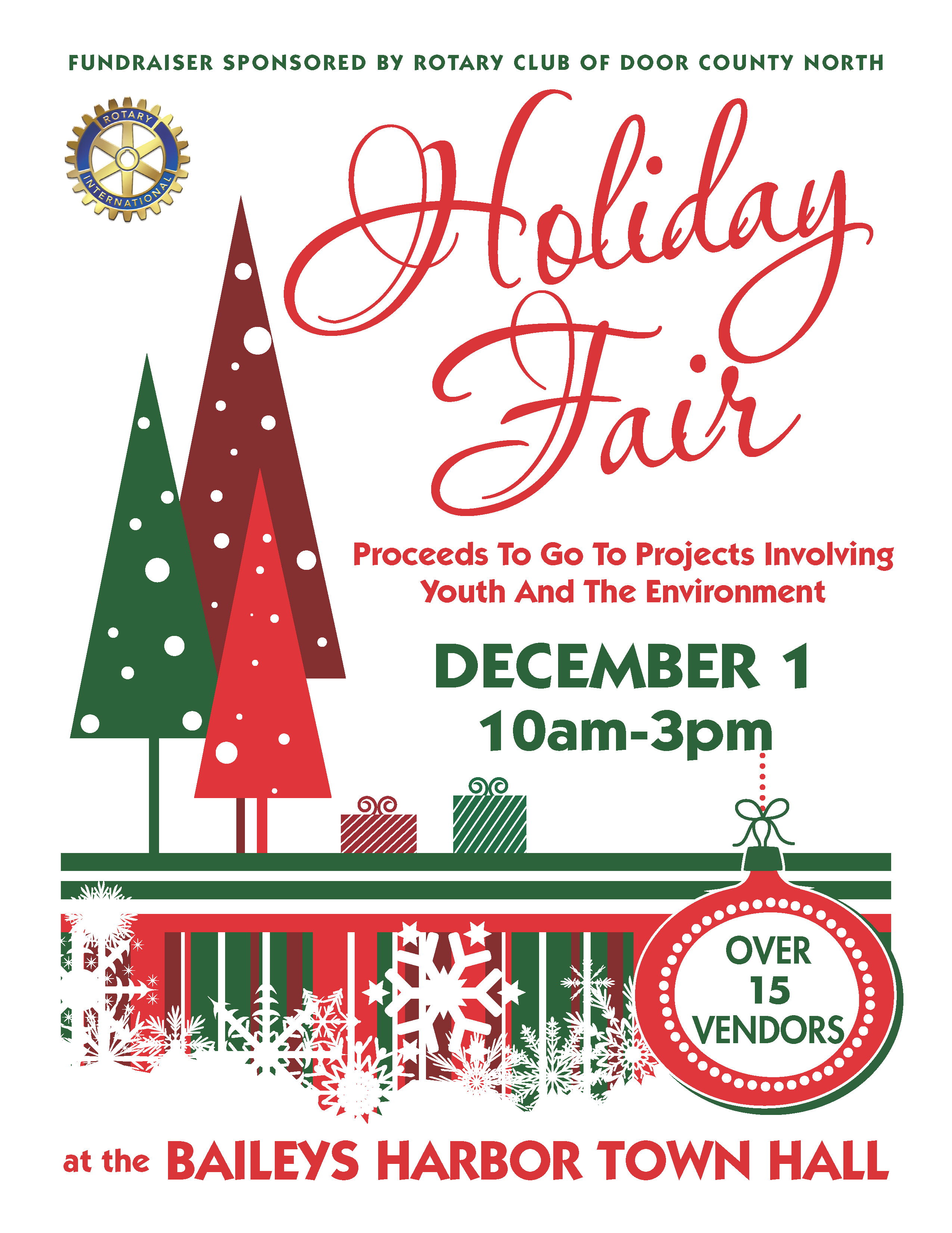 Holiday Fair by Door County North Rotary Club Photo