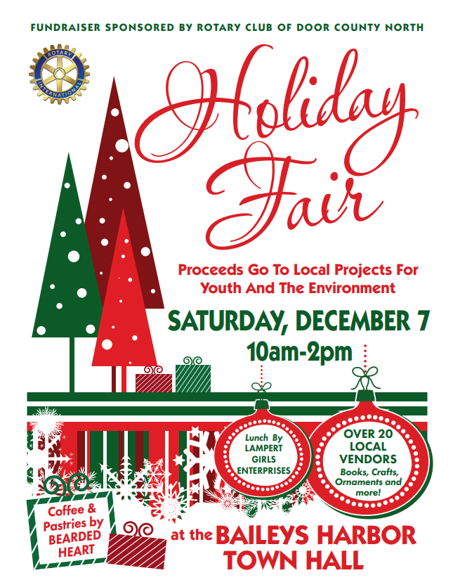 CANCELED -Holiday Fair by Door County North Rotary Club Photo